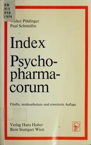 Index psychopharmacorum PDF