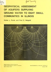 Geophysical assessment of aquifers supplying ground water to eight small communities in Illinois PDF