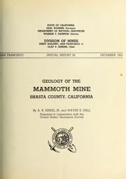 Geology of the Mammoth Mine PDF