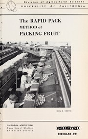 The rapid pack method of packing fruit PDF