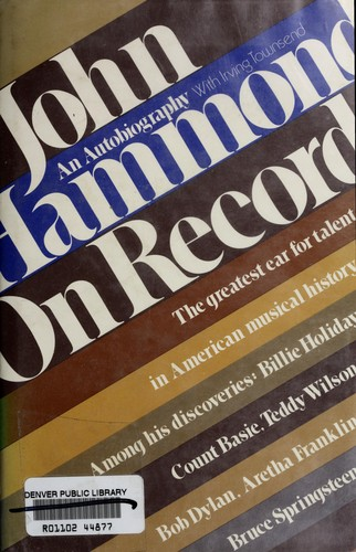 Download John Hammond on record
