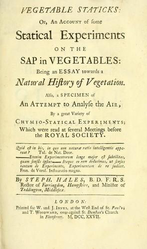 Vegetable staticks