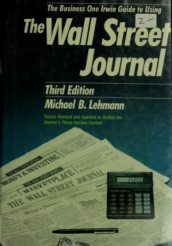 Download The Dow Jones-Irwin guide to using the Wall Street journal