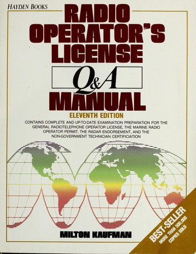 Download Radio operator's license Q & A manual
