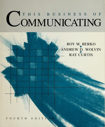 Download This business of communicating