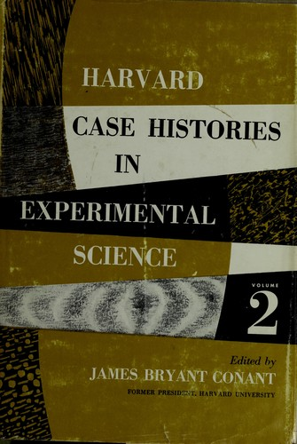 Download Harvard case histories in experimental science