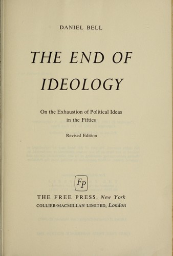 Download The end of ideology