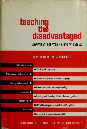 Download Teaching the disadvantaged