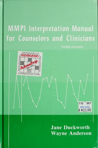 Download MMPI interpretation manual for counselors and clinicians