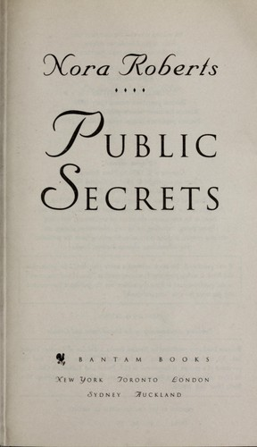 Download Public secrets.