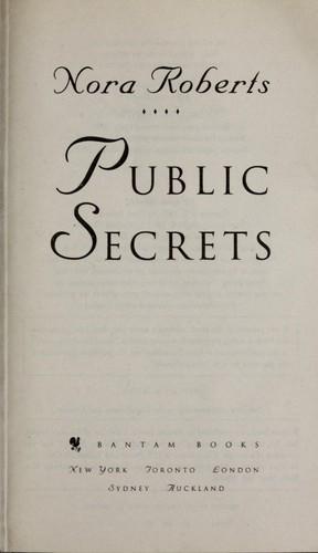 Public secrets.