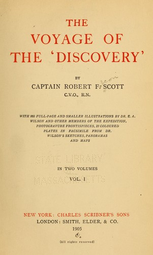 Download The voyage of the 'Discovery'