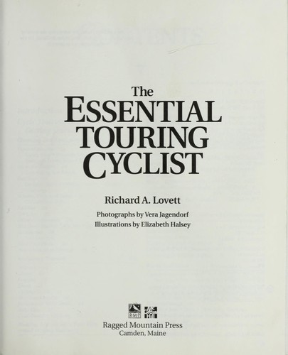 The essential touringcyclist