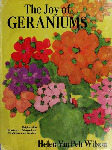 The joy of geraniums