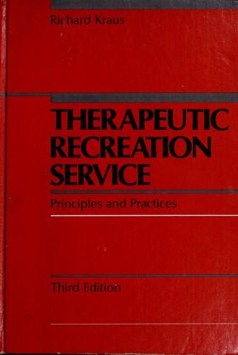 Download Therapeutic recreation service