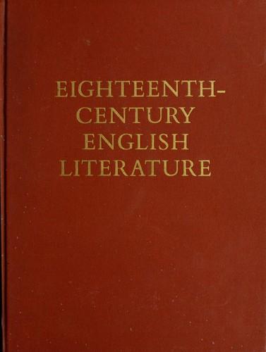 Eighteenth-century English literature.