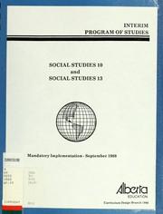Interim program of studies PDF