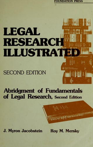 Download Legal research illustrated