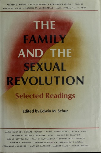 Download The family and the sexual revolution