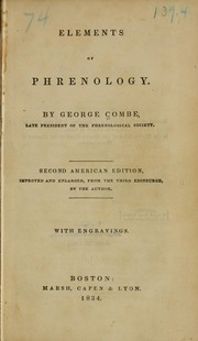 Elements of phrenology by George Combe