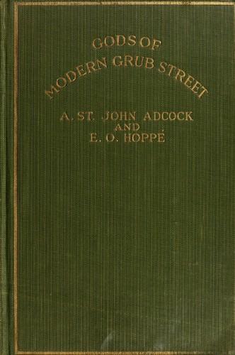 Gods of modern Grub street
