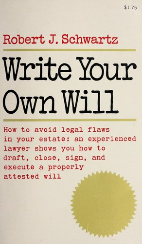 Download Write your own will.