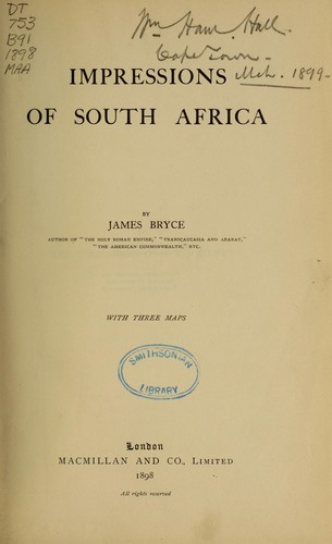 Download Impressions of South Africa