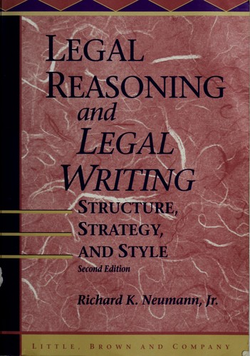 Download Legal reasoning and legal writing