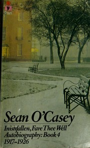 Inishfallen, fare thee well by Sean O'Casey