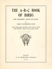 A.B.C. book of birds