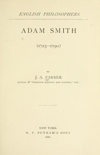 Download Adam Smith (1723-1790)