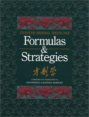 Chinese herbal medicine by Dan Bensky