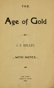The age of gold PDF