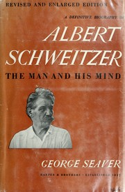 Albert Schweitzer by George Seaver