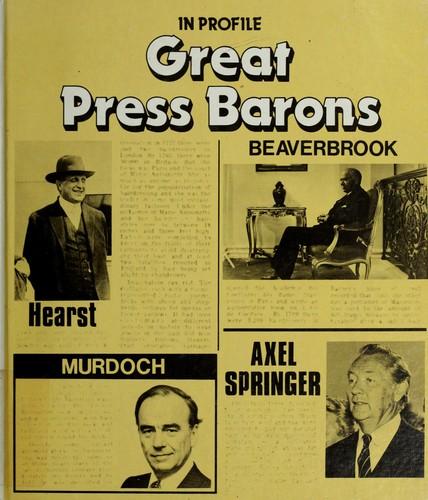 Great press barons