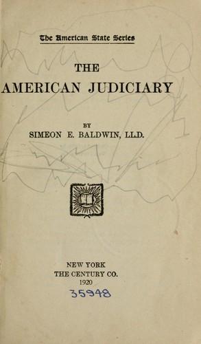 The American judiciary.