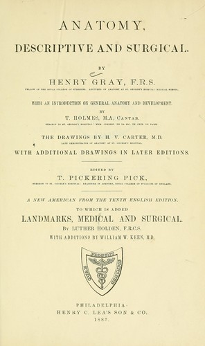Anatomy, descriptive and surgical.