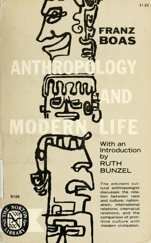 Download Anthropology and modern life.