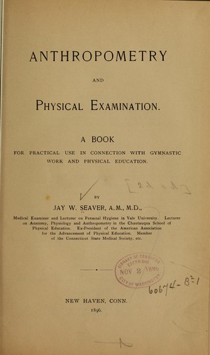 Anthropometry and physical examination