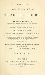 Cover of: Appleton's northern and eastern traveller's guide by W. Williams