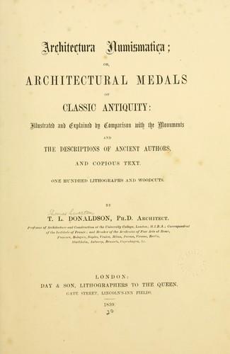 Download Architectura numismatica