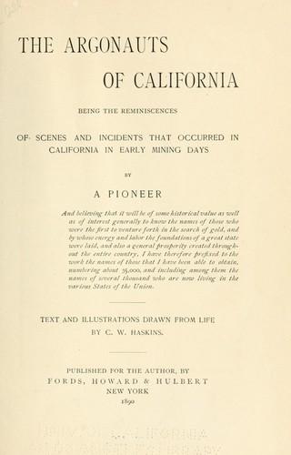Download The Argonauts of California