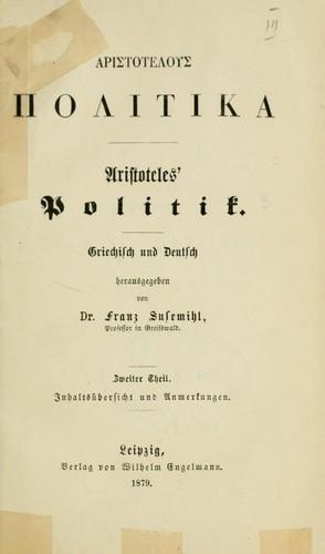 Aristotelous Politika.