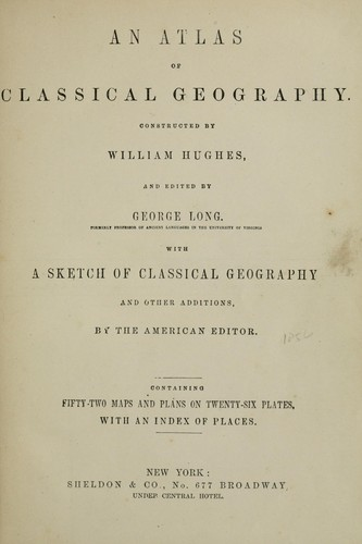 Download An atlas of classical geography.
