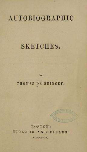 Download Autobiographic sketches