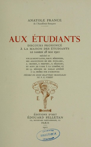 Download Aux étudiants