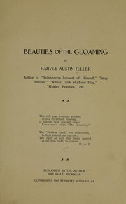 Beauties of the gloaming PDF
