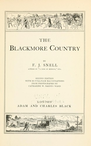 Download The Blackmore country