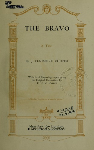 Download The bravo, a tale