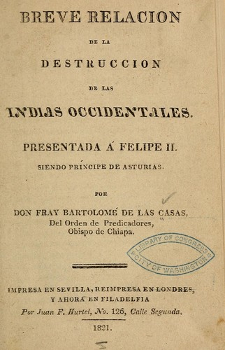 Download Breve relacion de la destruccion de las Indias occidentales.